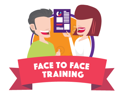 online v face to face training
